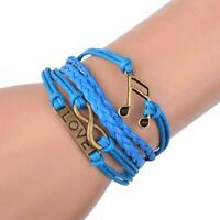 Bracelet infini love musique infinity