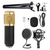 BM800 Condenser Microphone Kit Pro Audio Studio Recording & Brocasting bc &