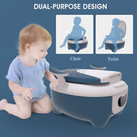 US Baby Pot Toilet Seat Separate Design Children Potty Train Toilet Home Outdoor