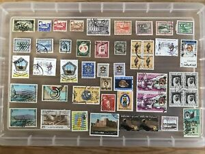 Middle East Stamps unchecked collection (11)