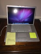 "Apple MacBook Pro 17"" Laptop - Model A1151"