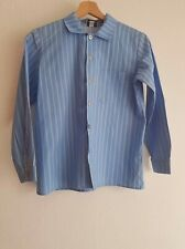 MARIMEKKO Kids Jokapoika Shirt Long Sleeve Striped Blue Sz 140cm