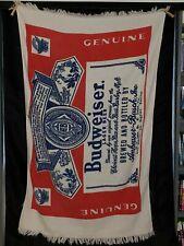 Vintage Budweiser Beach Towel