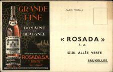 Belgian - Grande Fine Wine Domaine de Beaugnee - Rosada - Postcard - Alcohol