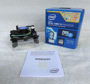 Intel OEM Copper CPU Heatsink Fan Stock Cooler LGA1150 LGA1151 LGA1155 LGA1156