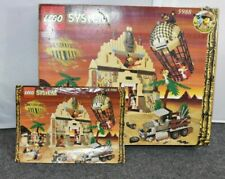 Lego 5988 Pharoah's Forbidden Ruins Box and Instructions ONLY