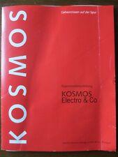 KOSMOS ELEKTRO-BAUKASTEN ELEKTRO & CO Anleitungsbuch 10. Auflage 1996