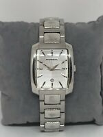 Fossil ES1234 Women's Silver Stainless Steel Analog Dial Quartz Wrist Watch KG10