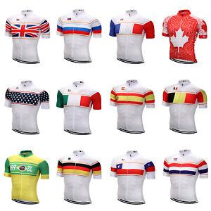 Pro Team Cycling Jersey Short Sleeve Men's / Women's Cycling Wear Top Bike Shirt