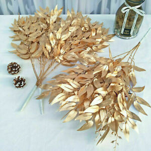 Artificial Silk Flowers Rose Lily Bunch Wedding Party Home Outdoor Bouquet Decor