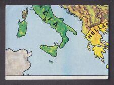Panini - Europa 80 - # 8 Europa Map