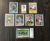 Nice Carlton Fisk Collection With Rookie & Topps Tiffany Cards