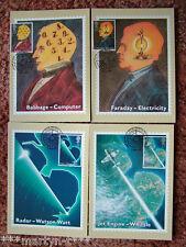 PHQ Card set FDI Front No 133 Scientific, 1991. 4 card set.  Mint Condition.