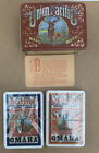 Union Pacific Train Omaha Platte Valley Playing Cards Metal Tin Display Case