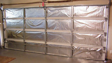 Reach Barrier Garage Door Insulation Kit, Reduction In Energy Usage & Expense