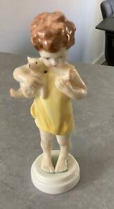 Royal Worcester Figurine - Poor Teddy Figure