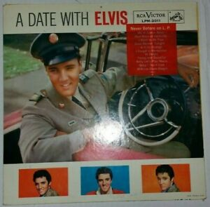 A Date With Elvis, Vinyl Record, LPM-2011