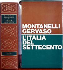 Indro Montanelli e Roberto Gervaso, L'Italia del Settecento (1700-1789), Ed. ...
