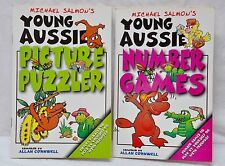 Young Aussie Picture Puzzler & Number Game Book Pack