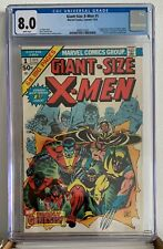 GIANT-SIZE X-MEN #1 - 1975 - CGC 8.0 - 3 FIRST APPEARANCES - 2ND FULL WOLVERINE