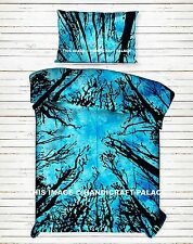 Locust Beach Trees Duvet Quilt Cover Bedding Set Single Indian Mandala Bedspread