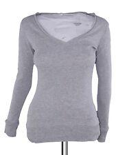 pimkie maglia donna grigio scollo v taglia m medium