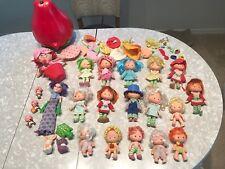 Strawberry Shortcake Vintage Dolls, Accessories & Clothing Lot
