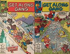 Get Along Gang #1 And #2 Comic Books (Star Comics 1985)