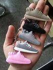 Kanye West Yeezy 350 750 Boost Style Silicone Keychain Sneaker Key Chain Keys