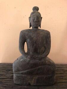 antique buddha lanna wooden statues..folk art
