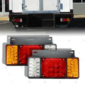 Tail Lights For Hino 155 195 5.0L 2012- Tail lamp 12V 1 Pair