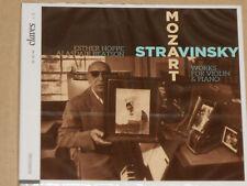 Strawinsky, Hoppe, Mozart, Beatson -Works For Violin & Piano- CD