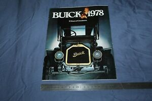 (MN2/C) Brochure Catalogue 1978 BUICK 75 years of greatness