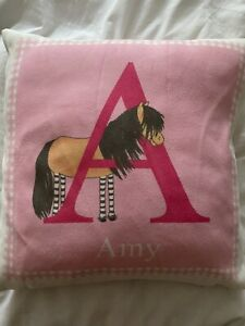 personalised cushion and cover Amy