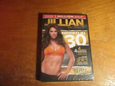 """Jillian Michaels Ripped In 30 Days Best Selling Fitness Dvd 3-2-1 System """"new"""""""
