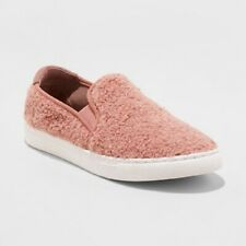 1/2 OFF SHOE SHOP-NEW Mad Love Women's Kam Sherpa Twin Gore Sneakers-Size 6-Pink