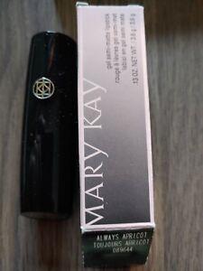 Mary Kay Gel Semi- Matte Lipstick ALWAYS APRICOT 089644