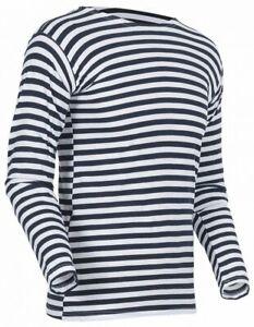 Original new Russian telnyashka longsleeve shirt black all sizes