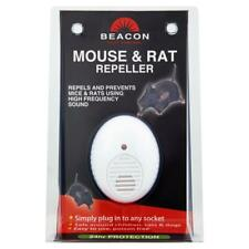 Rentokil Beacon Mouse and Rat Rodent Repeller Ultrasonic for Indoor Use, Plug