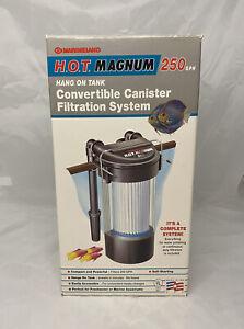 marineland 250 hot magnum aquarium filter untested