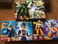 Dragon Ball Figure-rise Lot: Super Saiyan Blue Vegeta, Ultra Instinct Goku, Cell