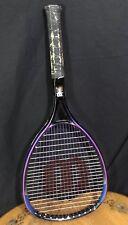 Wilson Sledge Hammer 3.8 Tennis Racquet OS 110 Racket Swing Index Strung 4 3/8