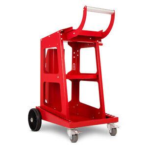 Welding trolley Welder cart MIG TIG Plasma Solid gas bottle