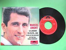 Vinyle 45T EP Marcel Amont La Jaguar + 3 Polydor 21176