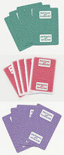 CASINO PLAYING CARDS - HOTEL NEVADA 3 USED UNCUT & UNMARKED DECKS - FREE S/H*