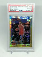 Coby White 2019-20 HOOPS PREMIUM STOCK GOLD PULSAR TRIBUTE 295 PSA 10 Gem Mint
