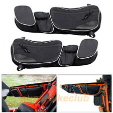 Door Storage Bags Knee Pad For 2017 2018 2019 Can-Am Can Am Maverick X3 MAX