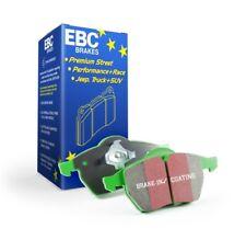EBC Brakes Greenstuff Rear Brake Pads For Subaru 14-17 FXT / BRZ/86