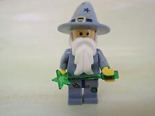 LEGO personnage castle fantasy Sorcier cas363 sandblau Set 5614