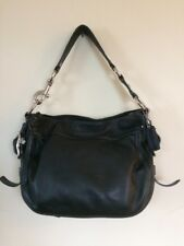 Coach Zoe Hobo Shoulder Bag Black Leather Purse F12671